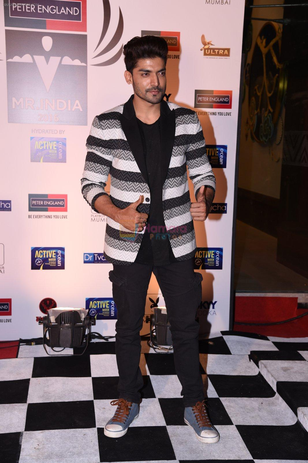 Gurmeet Choudhary at Peter England Mr India on 24th Nov 2016