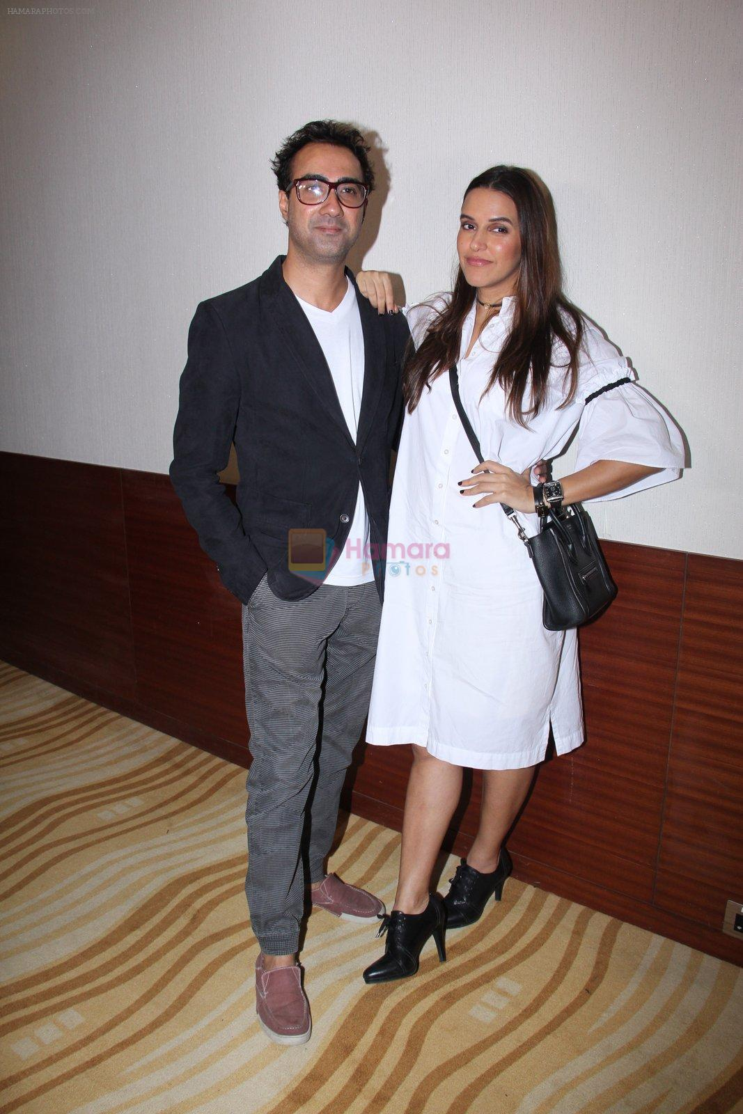 Neha Dhupia, Ranvir Shorey at Moh Maya Money screening on 24th Nov 2016