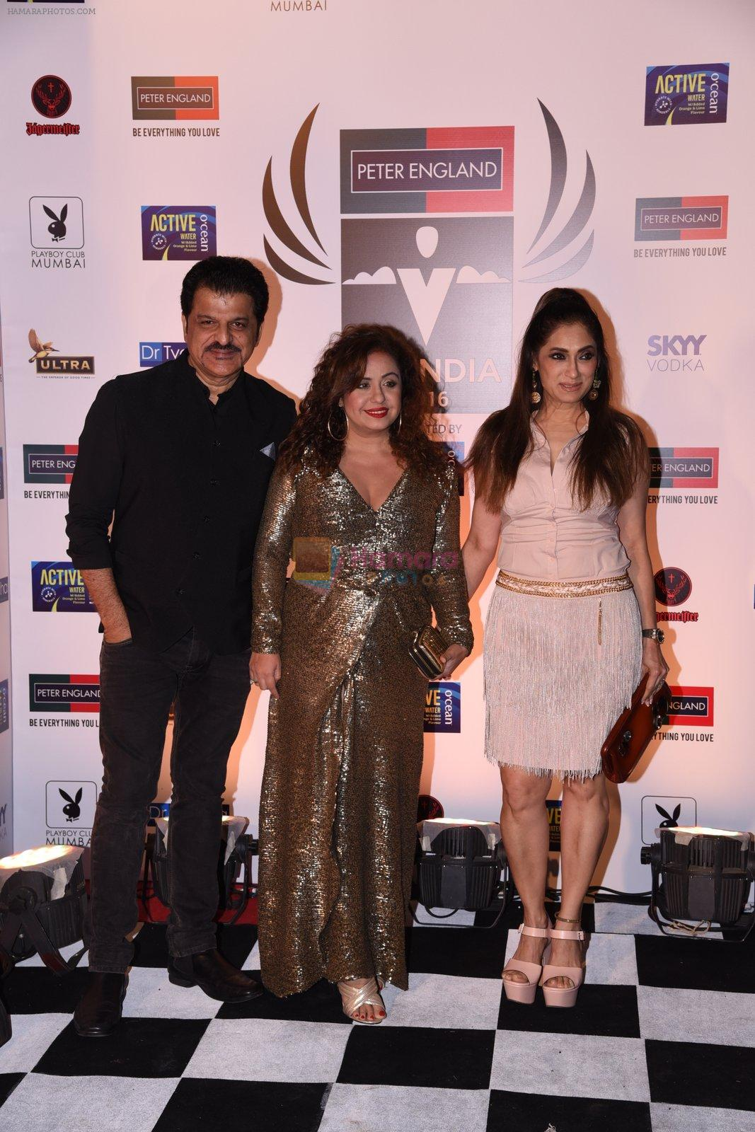 Rajesh Khattar, Vandana Sajnani at Peter England Mr India on 24th Nov 2016