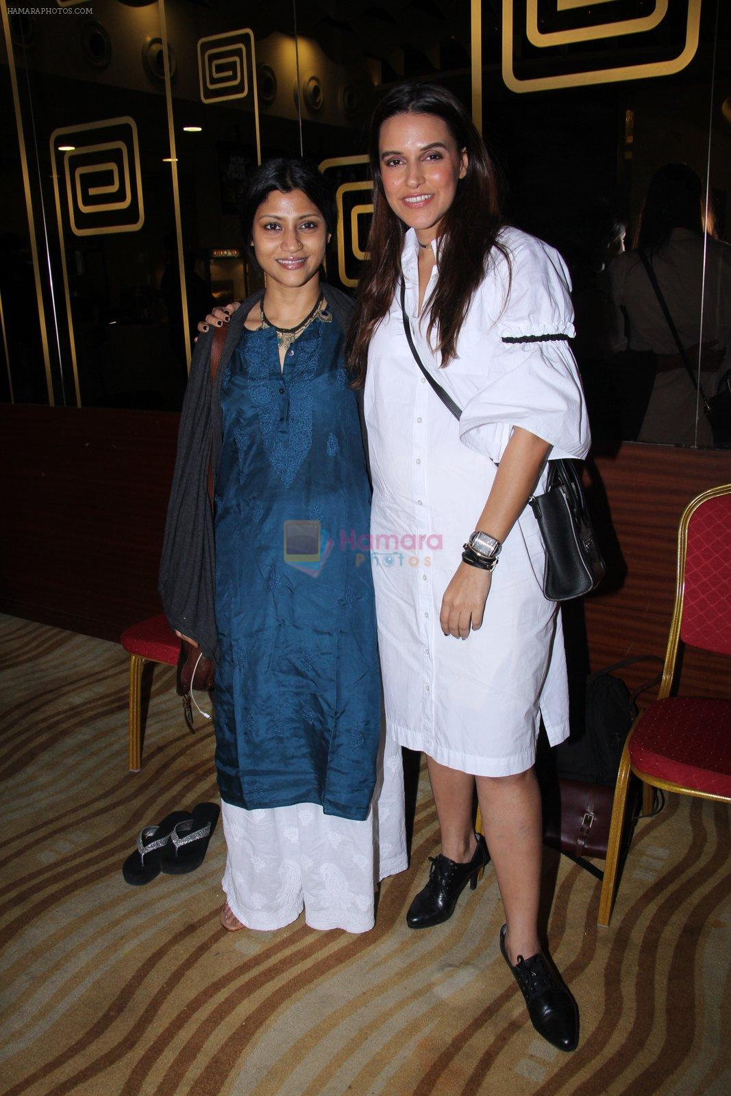 Konkona Sen Sharma, Neha Dhupia at Moh Maya Money screening on 24th Nov 2016