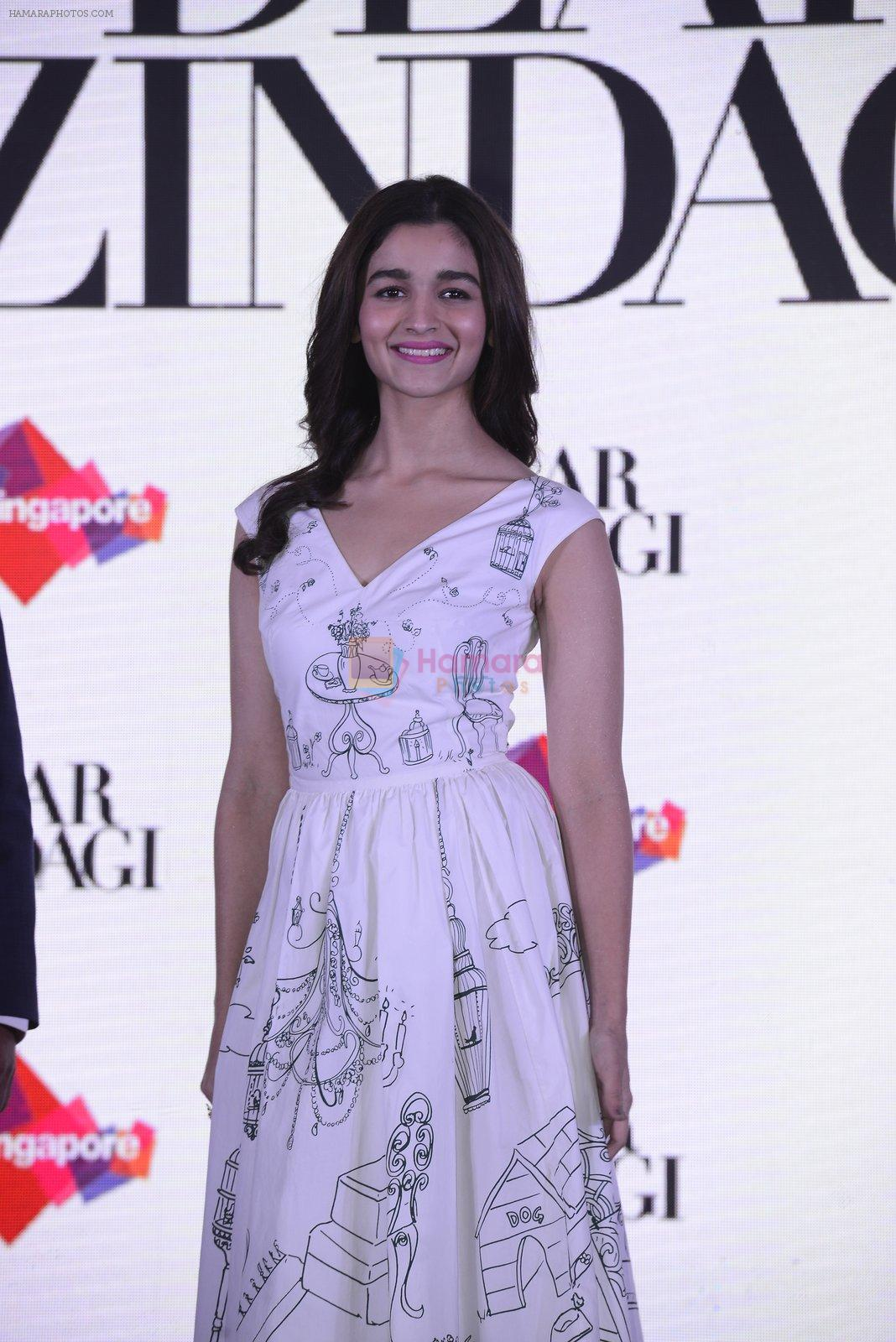 Alia Bhatt at Singapore tourism event on 25th Nov 2016