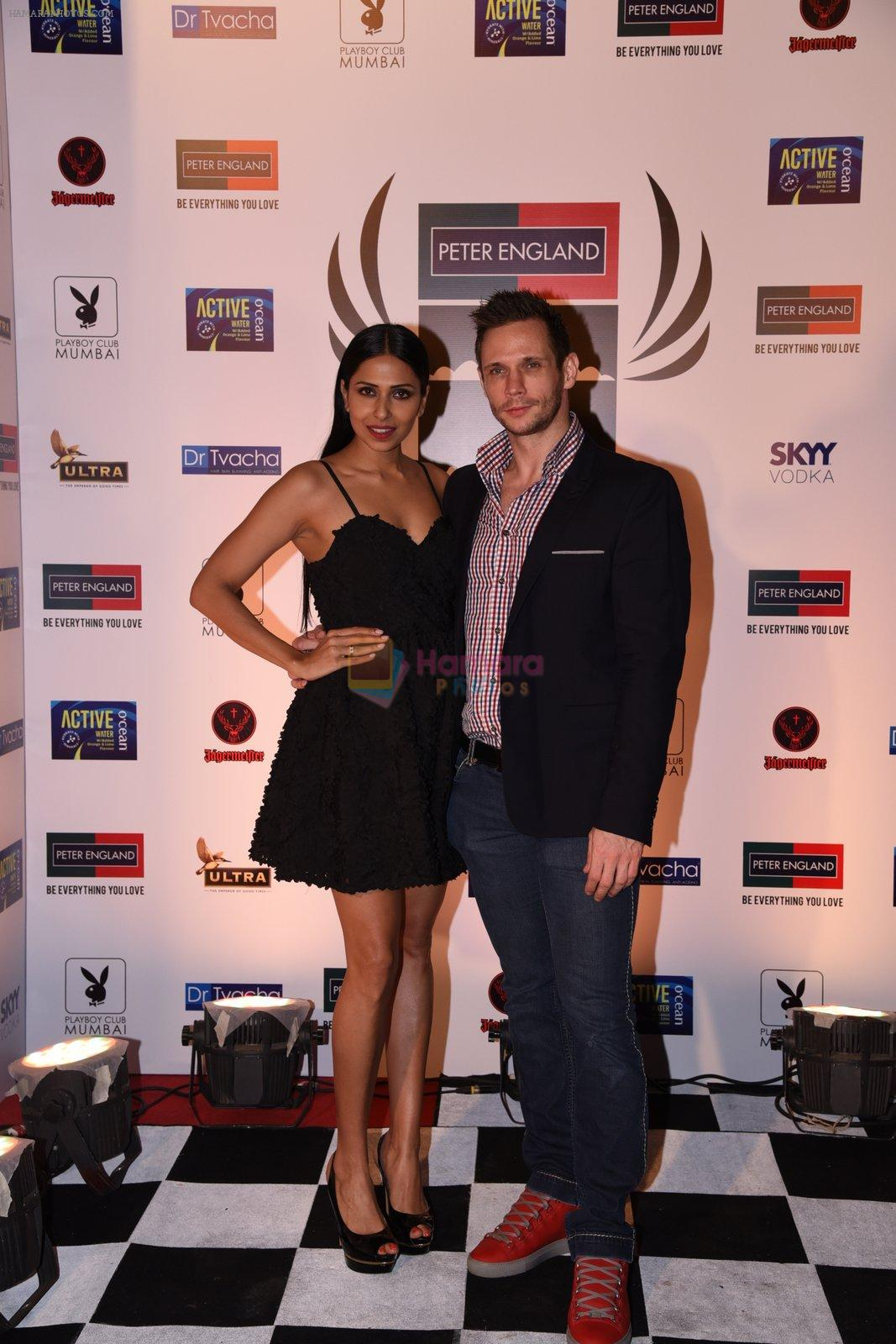 Candice Pinto at Peter England Mr India on 24th Nov 2016
