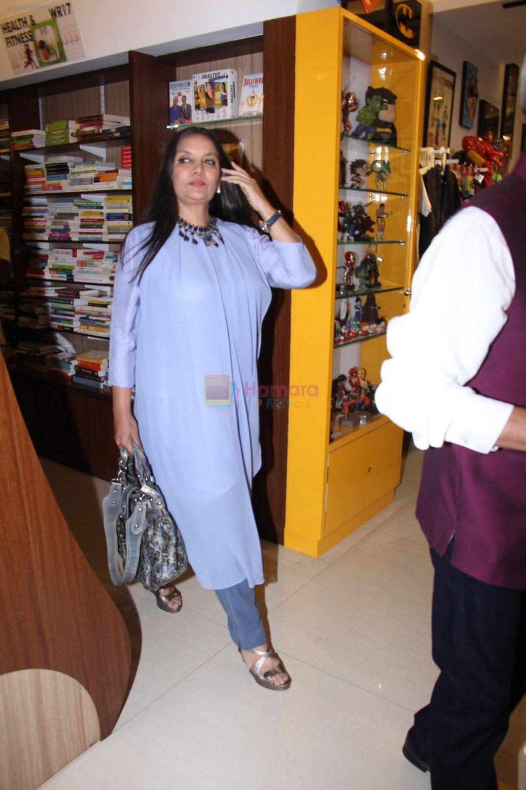 Shabana Azmi at the launch of Anjali Chabbria's book in Mumbai on 24th Nov 2016