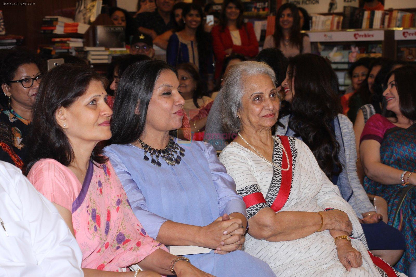 Waheeda Rehman at the launch of Anjali Chabbria's book in Mumbai on 24th Nov 2016
