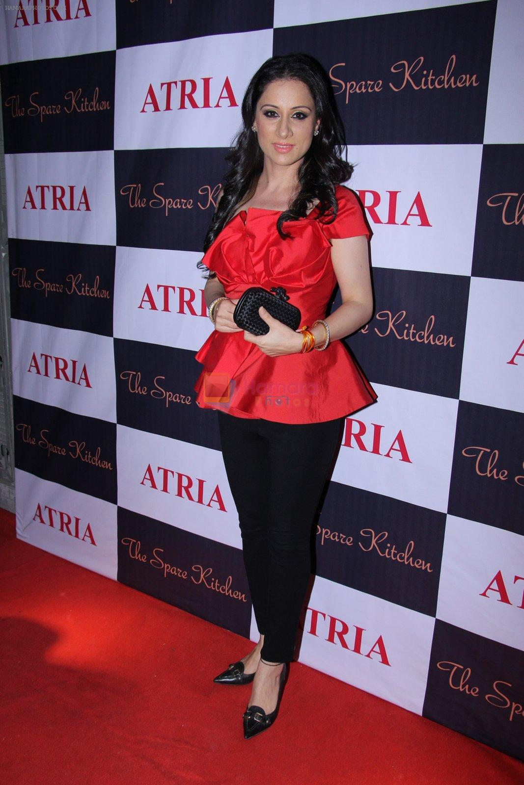 Rouble Nagi at Ritika and Kunal Vardhan's Spare Kitchen launch in Atria Mall on 25th nov 2016