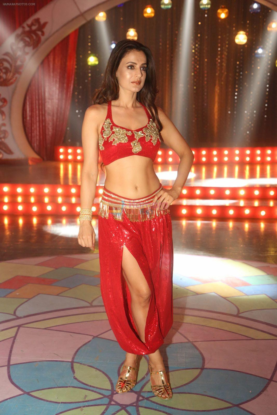 Ameesha Patel on location of a south indian movie on 25th Nov 2016