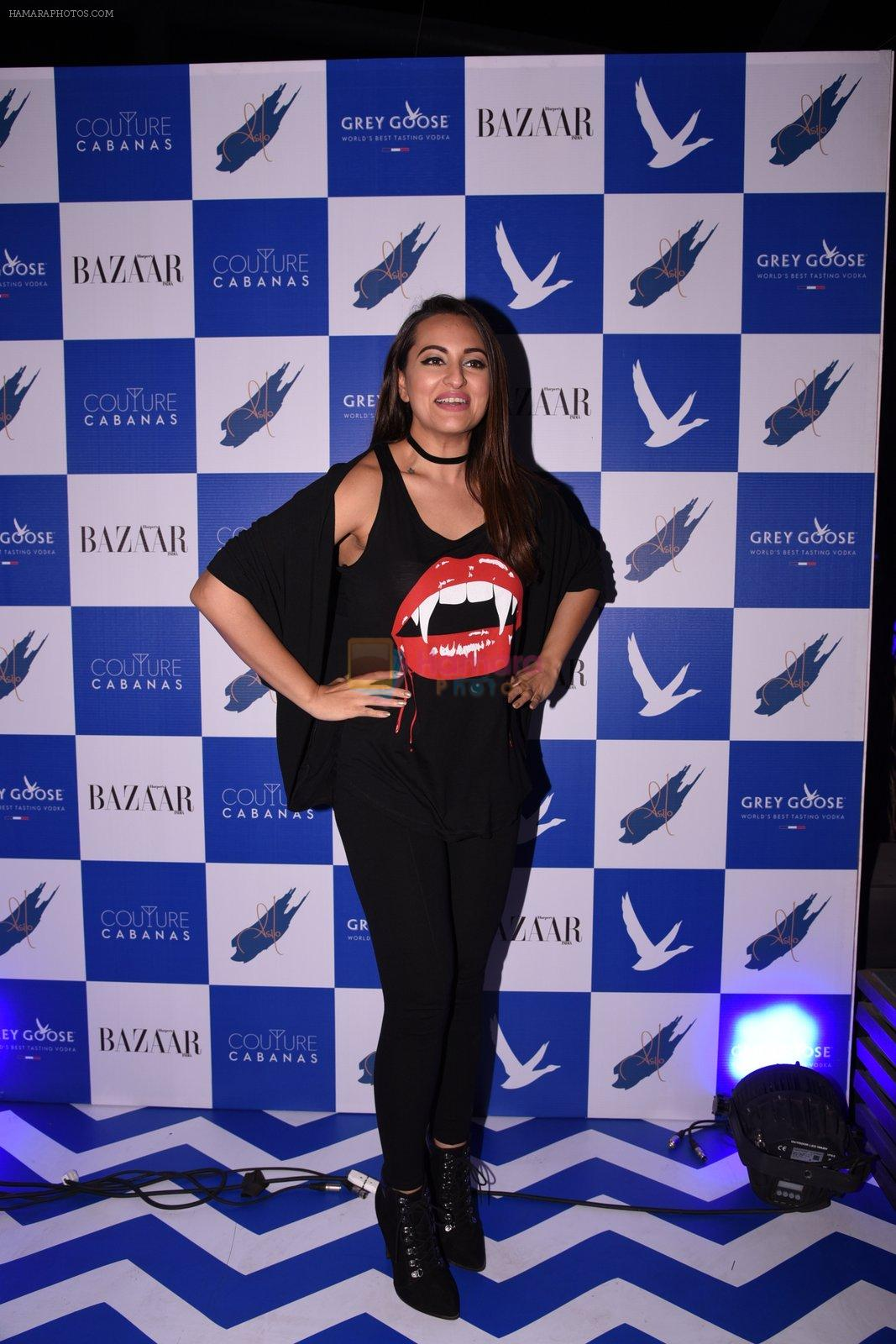 Sonakshi Sinha at Couture Cabanas hosted by Kunal Rawal and Ashiesh Shah in Asilo on 25th Nov 2016