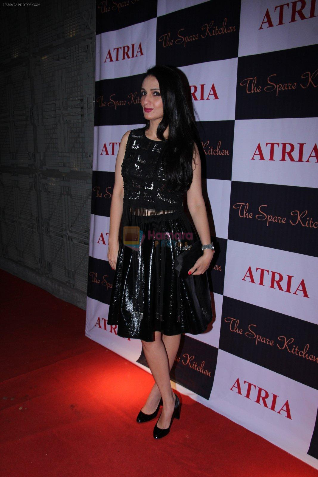 Anu Dewan at Ritika and Kunal Vardhan's Spare Kitchen launch in Atria Mall on 25th nov 2016