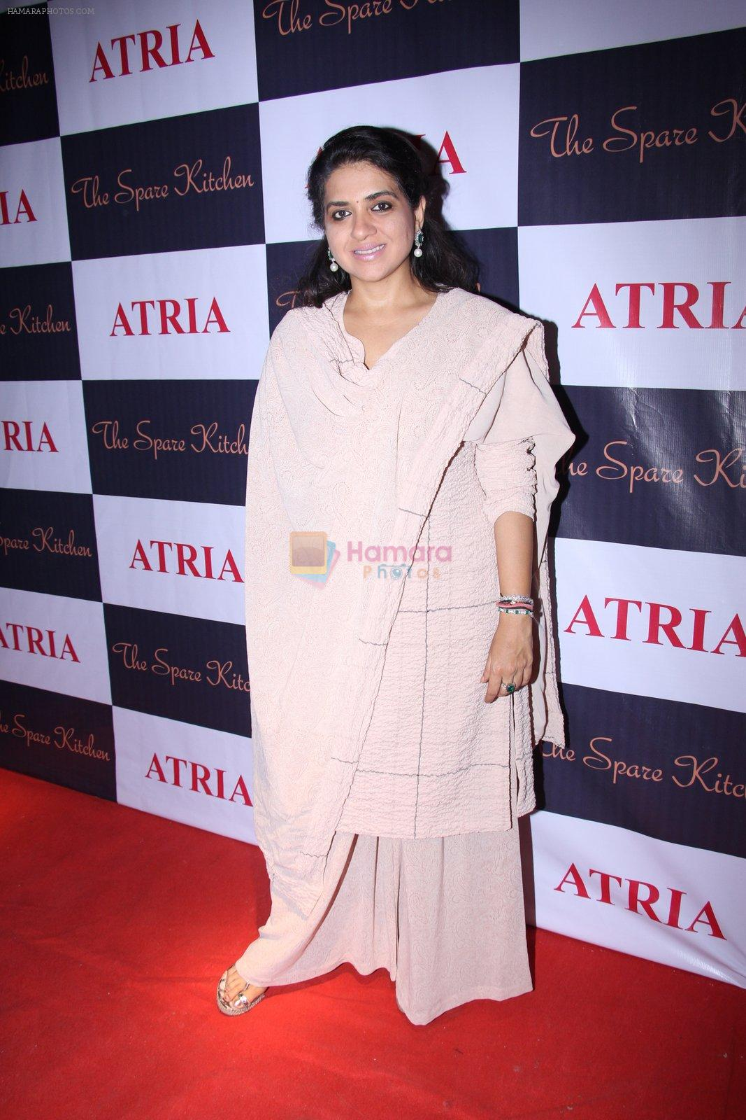 Shaina NC at Ritika and Kunal Vardhan's Spare Kitchen launch in Atria Mall on 25th nov 2016