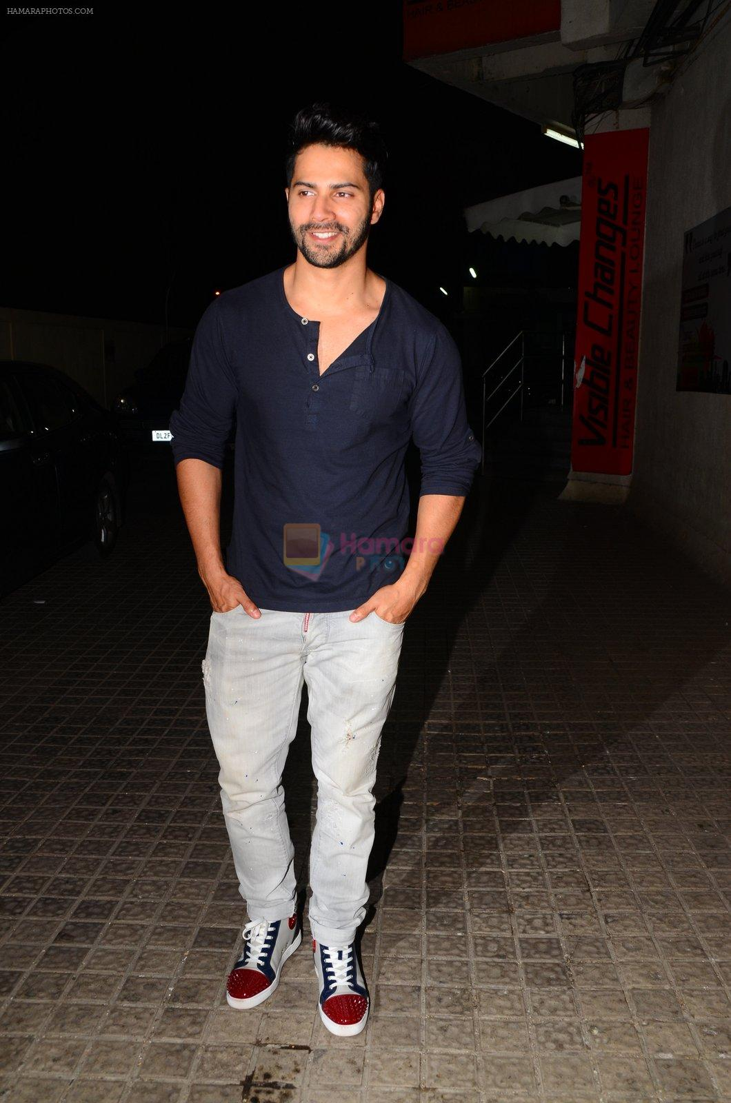 Varun Dhawan snapped at PVR on 26th Nov 2016