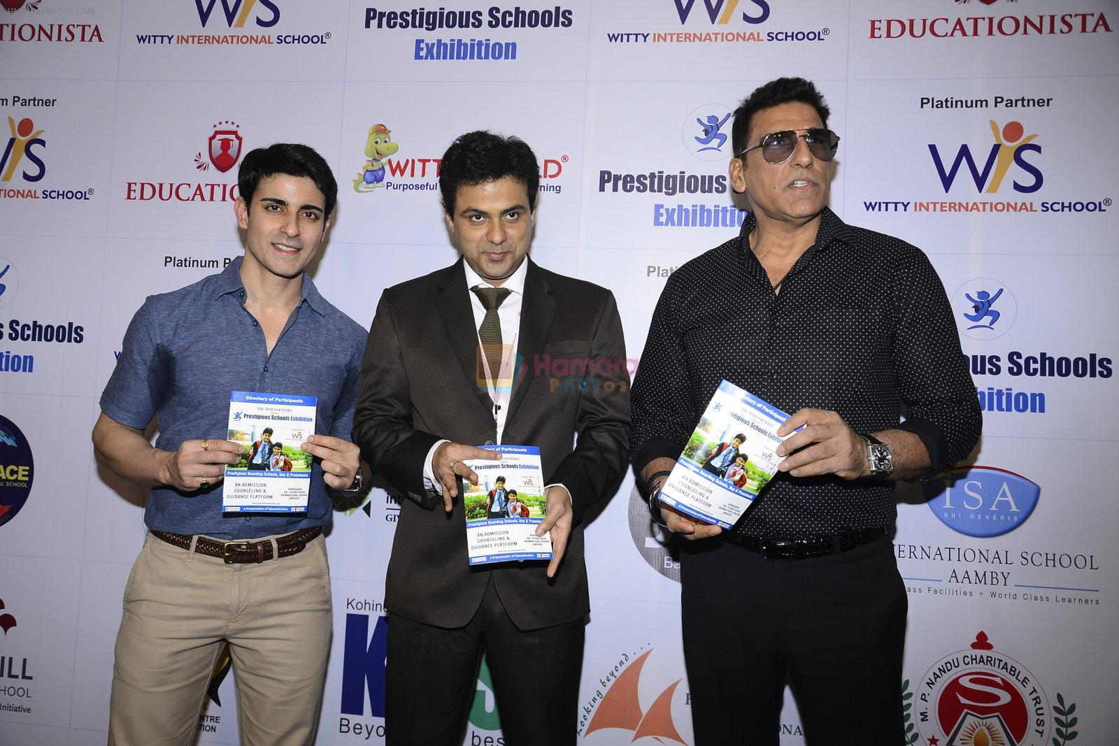 Gautam Rode, Mukesh Rishi at Prestegious school exhibition on 26th Nov 2016