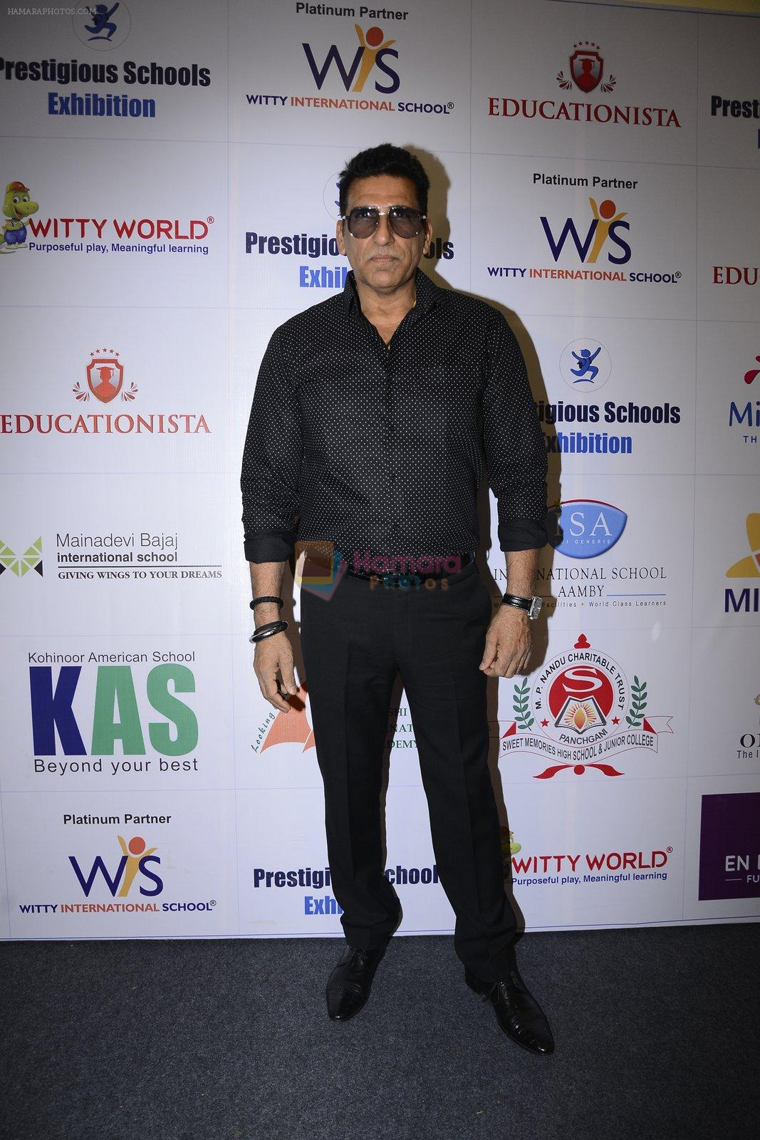 Mukesh Rishi at Prestegious school exhibition on 26th Nov 2016