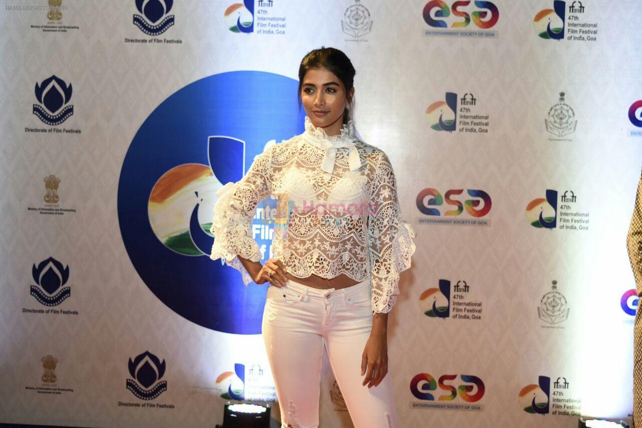 Pooja Hegde at IFFI Goa