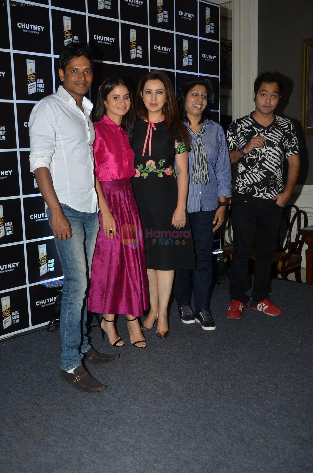 Tisca Chopra, Rasika Duggal at Chutney film launch on 28th Nov 2016