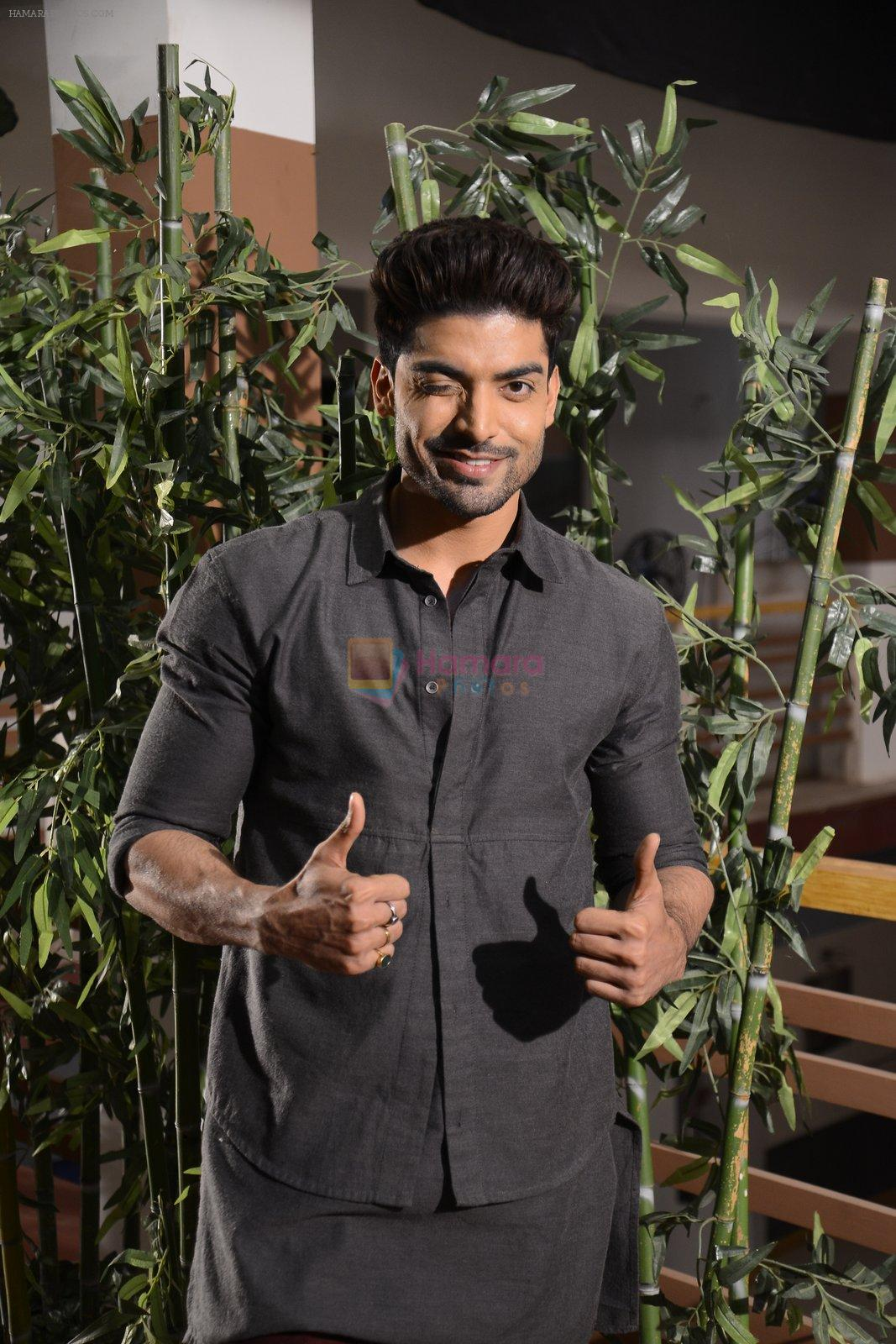 Gurmeet Choudhary at May I come in Madam on location in Mumbai on 28th Nov 2016