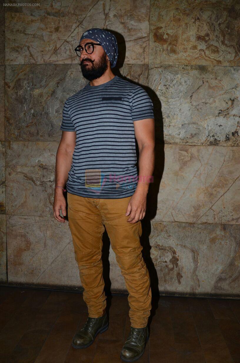 Aamir Khan at Dangal promotions in Mumbai on 28th Nov 2016