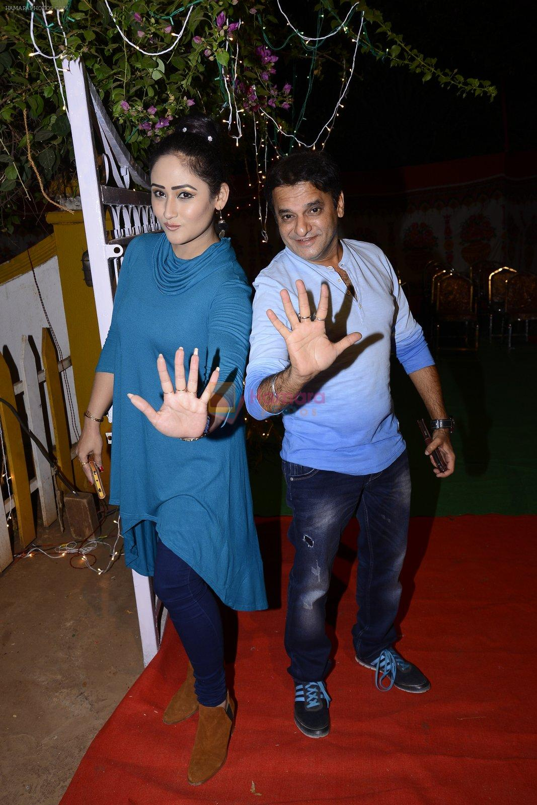 Paresh Ganatra, Aditi Sajwan at Chidiya Ghar success meet on 28th Nov 2016