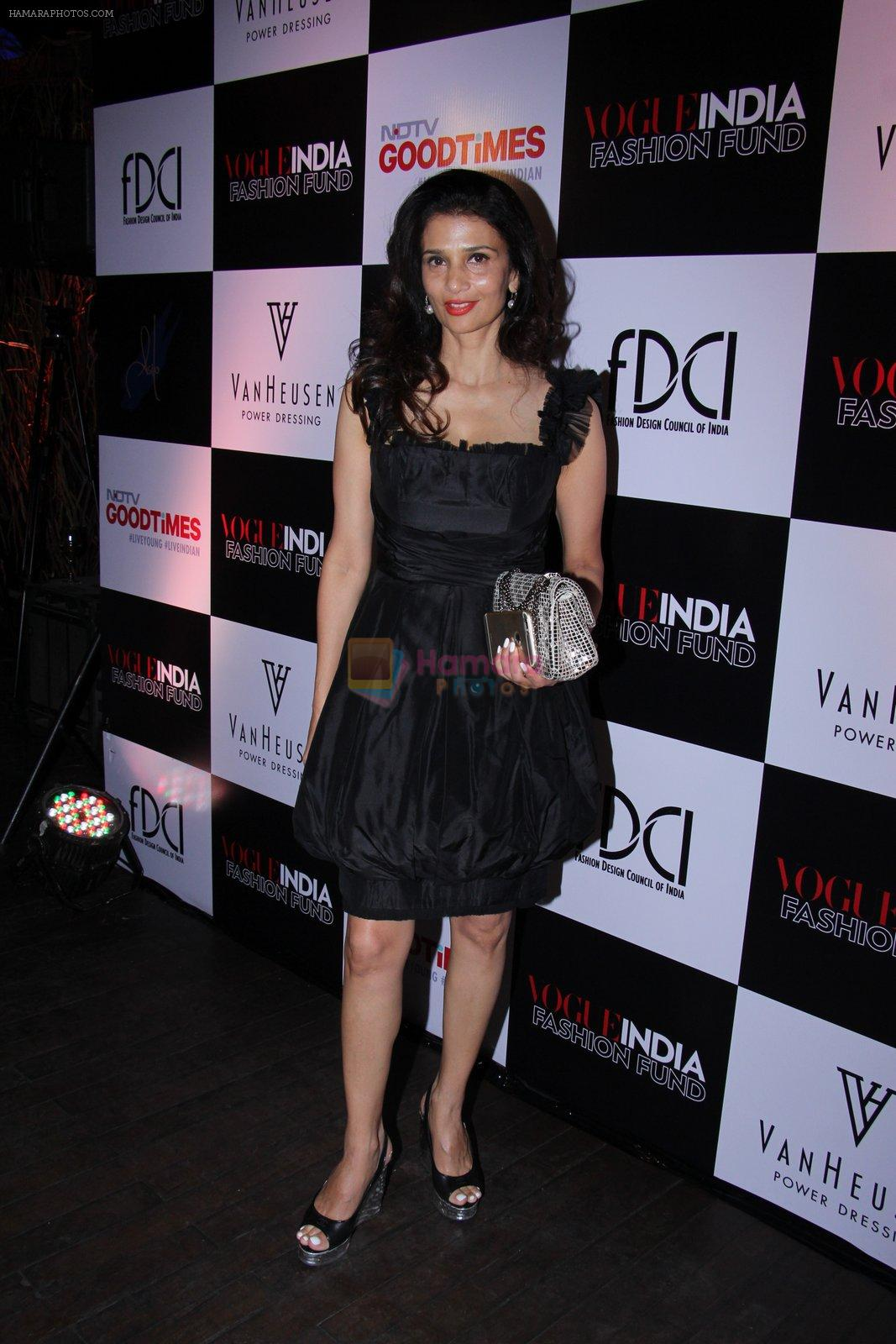 Rhea Pillai at Vogue India Fashion Fund Event on 29th Nov 2016
