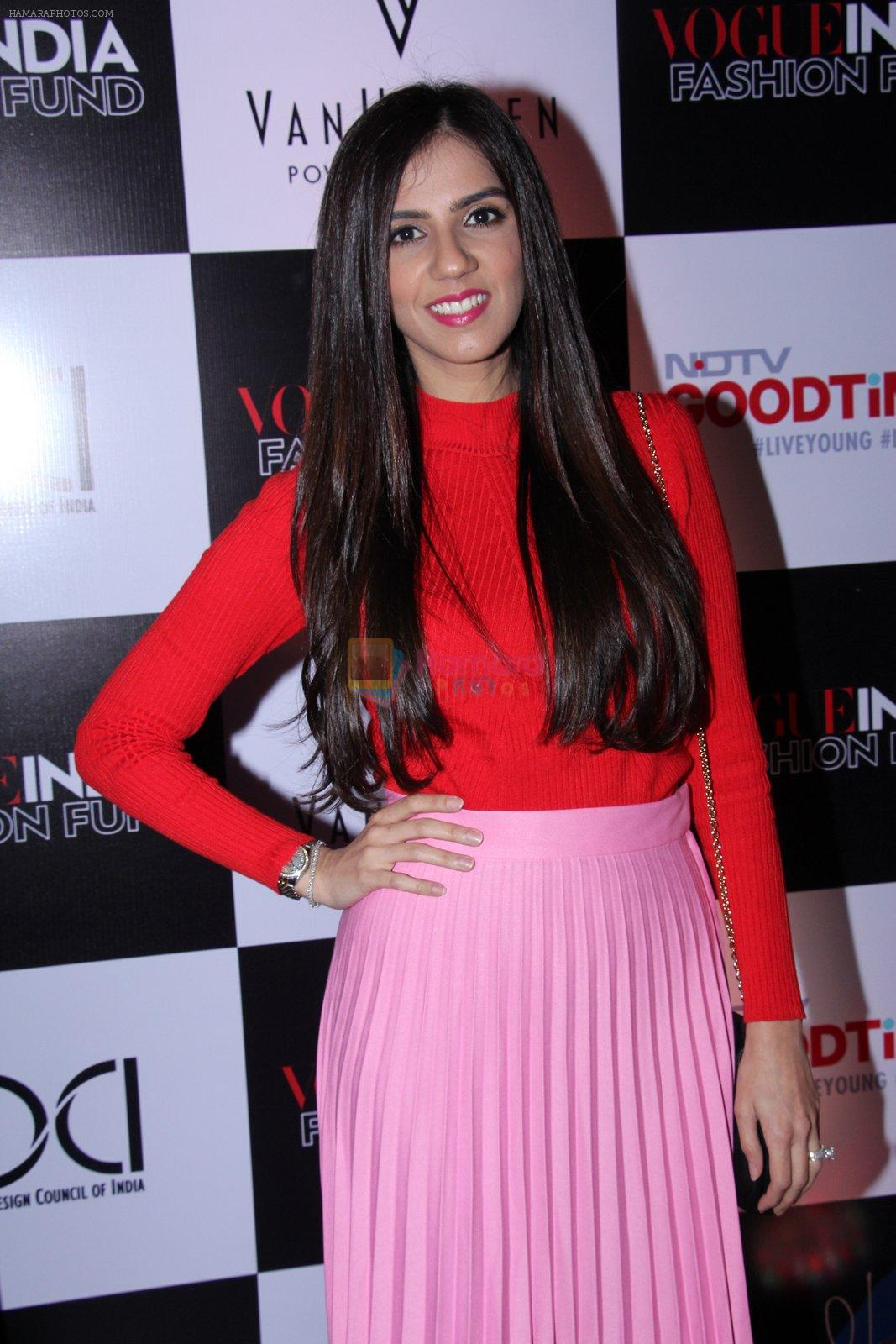 Nishka Lulla at Vogue India Fashion Fund Event on 29th Nov 2016