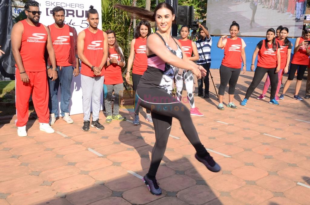 Lauren Gottlieb at the skechers GoGoadance press conference