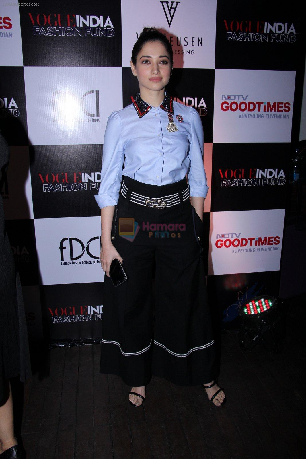 Tamannaah Bhatia at Vogue India Fashion Fund Event on 29th Nov 2016