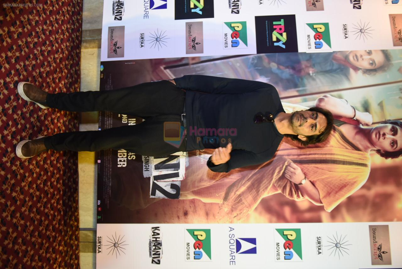 Arjun Rampal at Kahaani 2 Press Conference in Delhi on 29th Nov 2016
