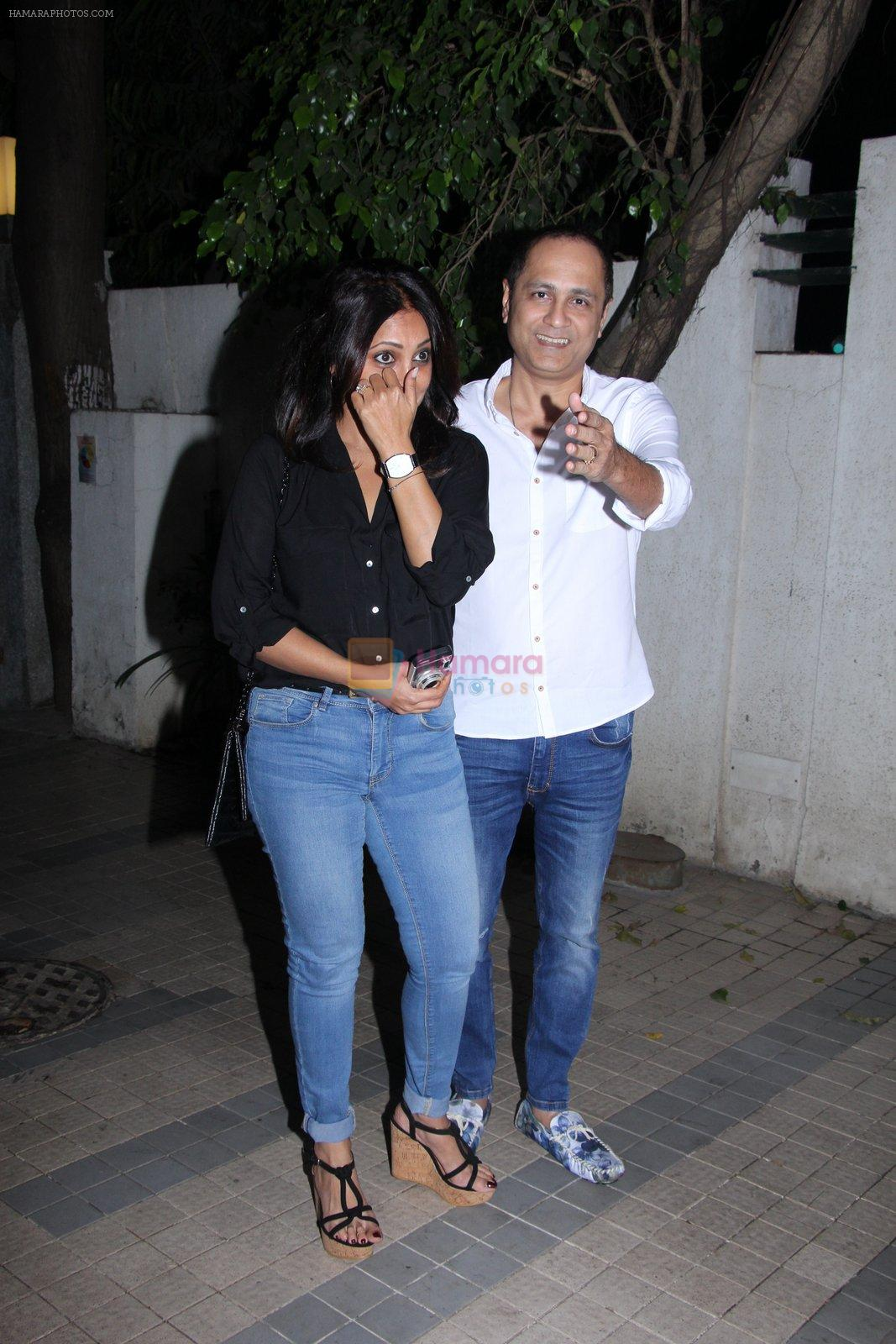 Vipul Shah, Shefali Shah at Madhur Bhandarkar Bash on 30th Nov 2016