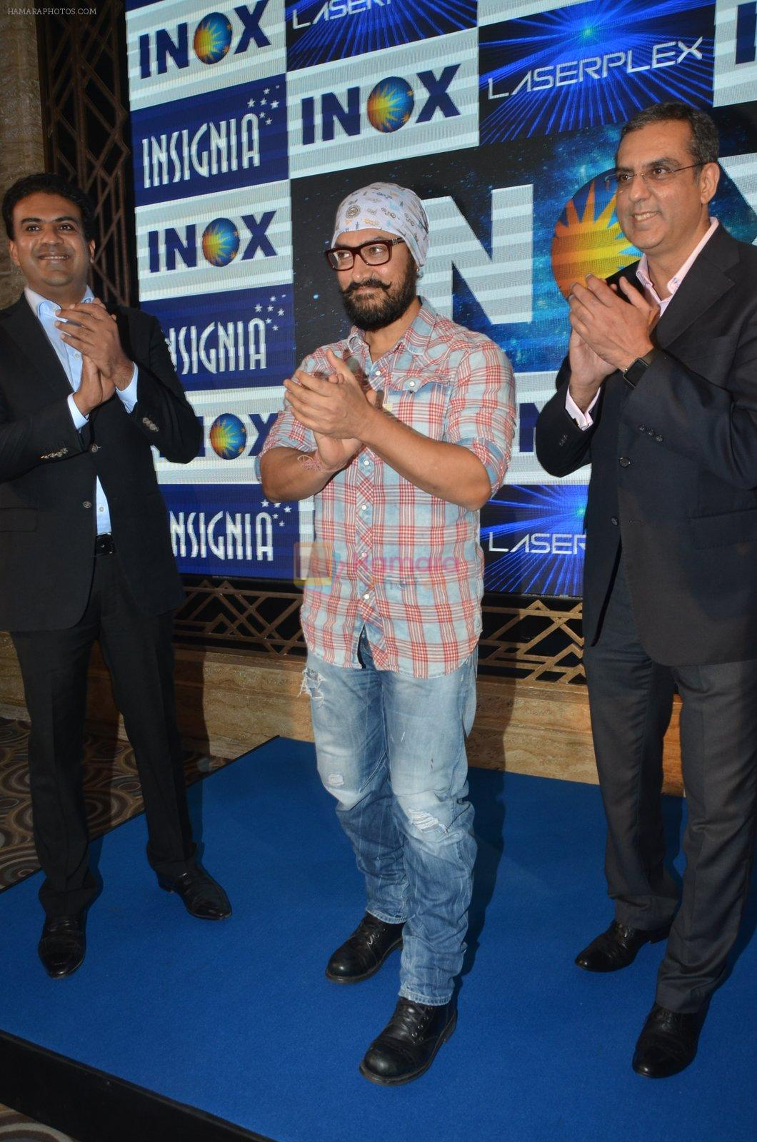 Aamir Khan At Launch Of New Inox Cinema on 30th Nov 2016