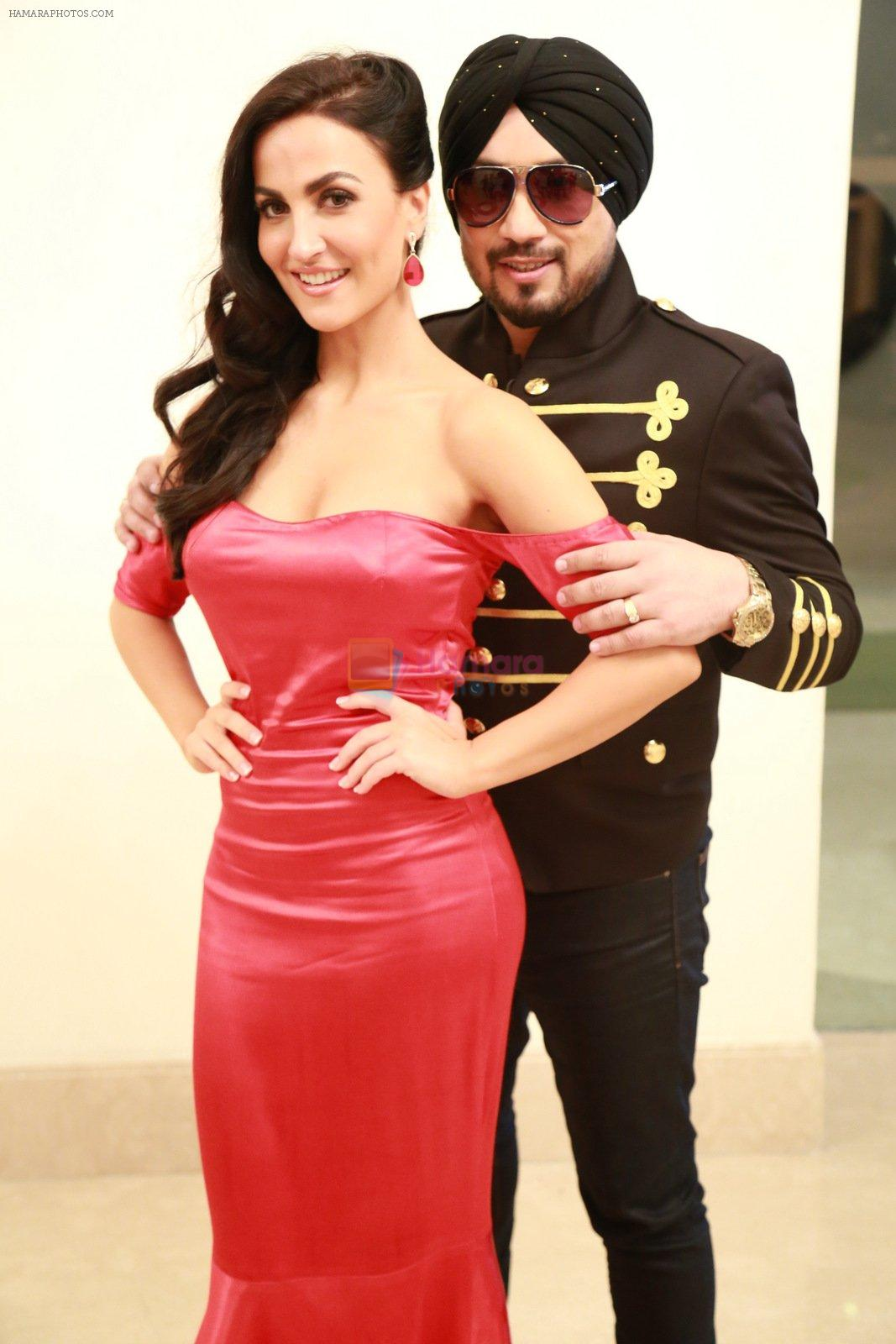 Dilbagh Singh & Elli avram in an Upcoming Track Urban Chhori on 30th Nov 2016