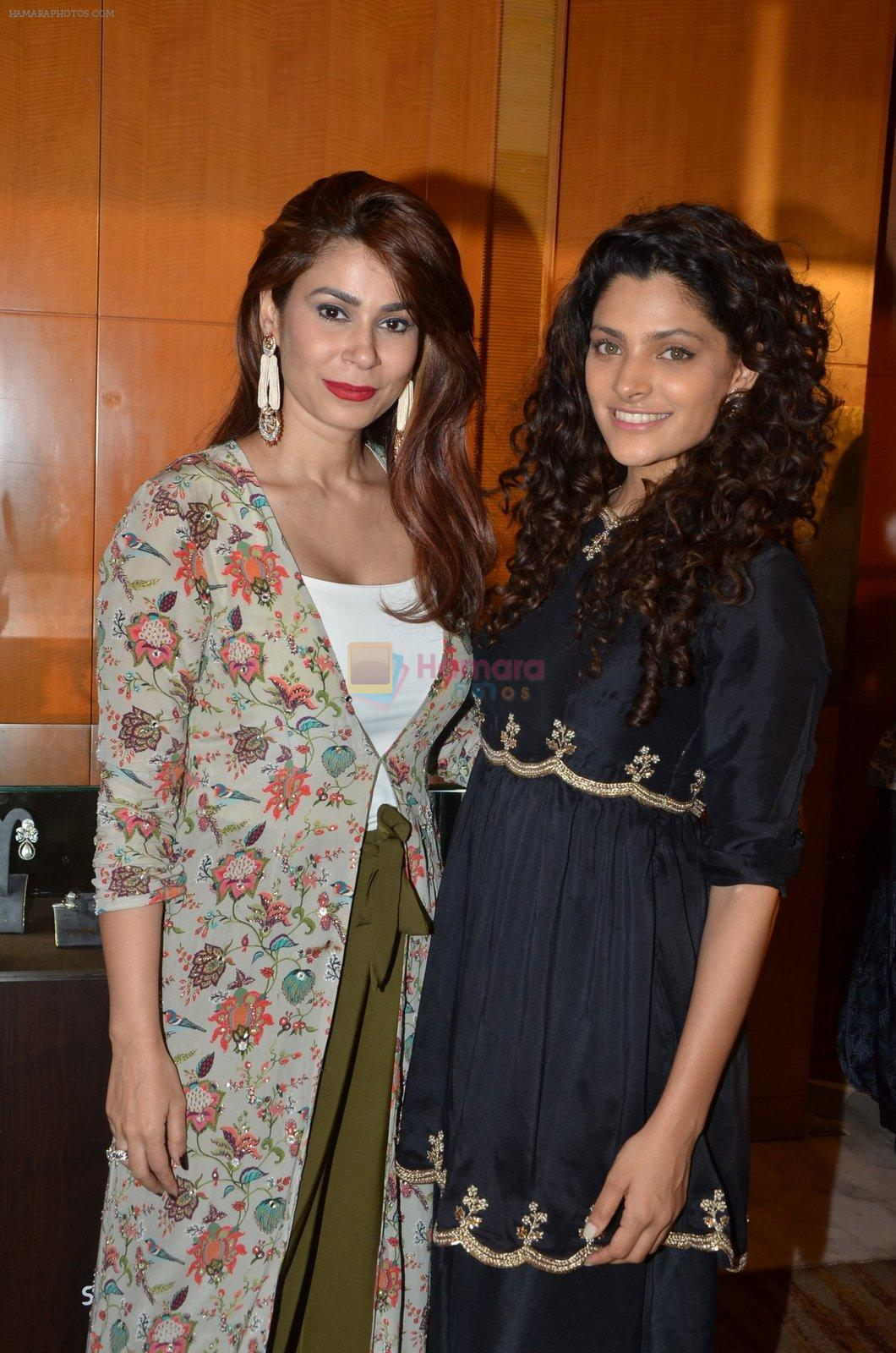 Saiyami Kher at Payal Singhal, Shaheen Abbas, Nisha Jhangiani trunk show on 1st Dec 2016