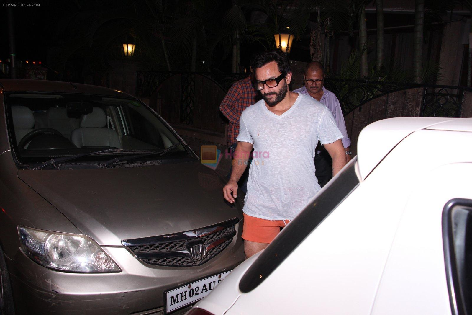 Saif Ali KHan snapped on 1st Dec 2016