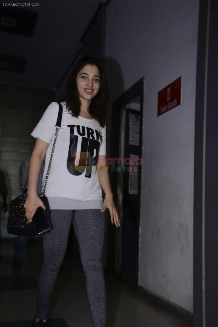 Tammanah Bhatia snapped leaving dance practise session on 1st Dec 2016