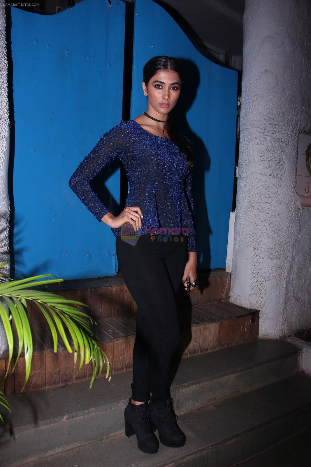 Pooja Hegde at Kunal Rawal's Party on 30th Nov 2016