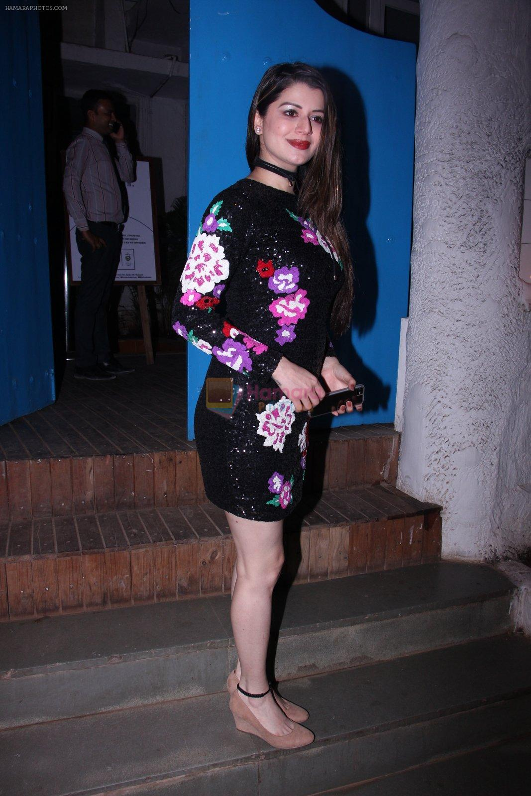 Kainaat Arora at Kunal Rawal's Party on 30th Nov 2016