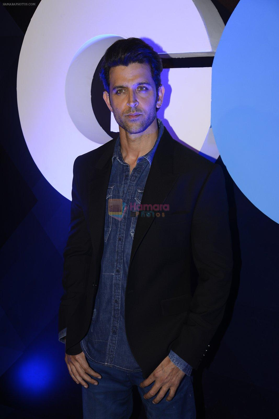 Hrithik Roshan at GQ fashion nights on 3rd Dec 2016
