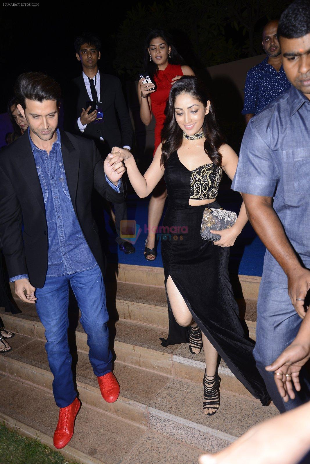 Hrithik Roshan, Yami Gautam at GQ fashion nights on 3rd Dec 2016