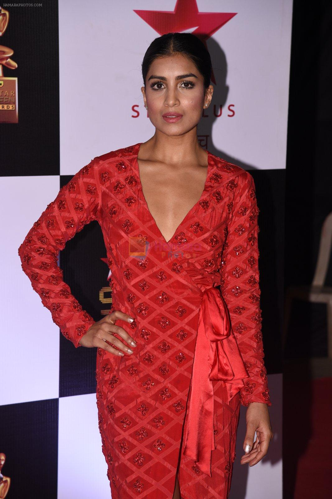 Pallavi Sharda at 22nd Star Screen Awards 2016 on 4th Dec 2016