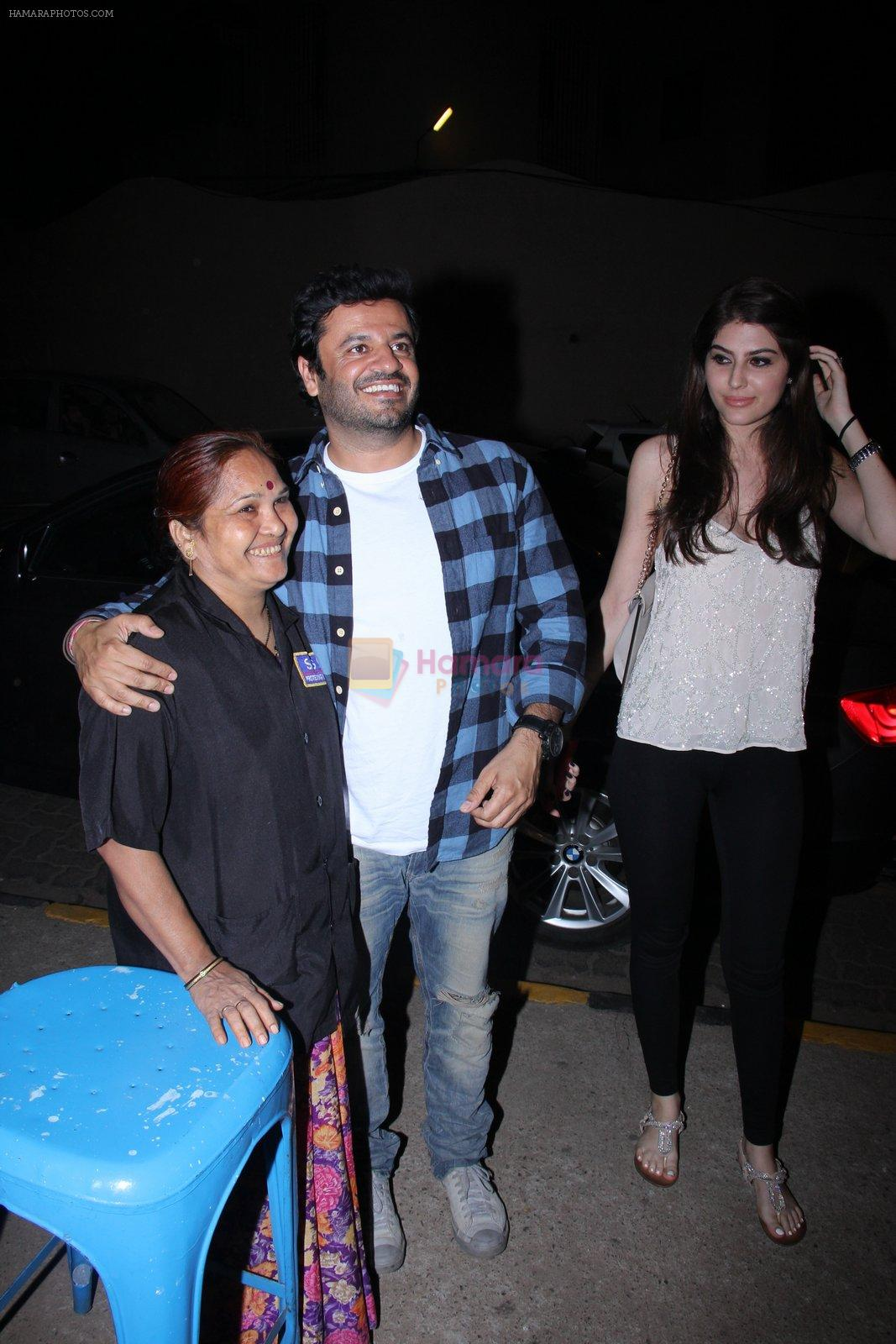 Vikas Bahl snapped at Olive for dinner on 14th Dec 2016