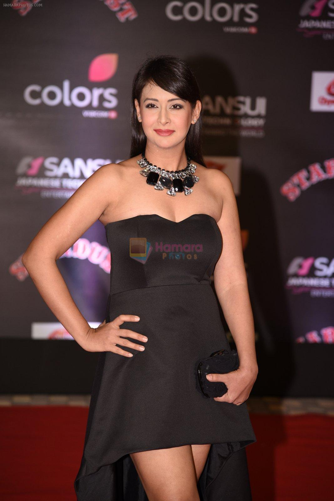 Preeti Jhangiani at 14th Sansui COLORS Stardust Awards on 19th Dec 2016