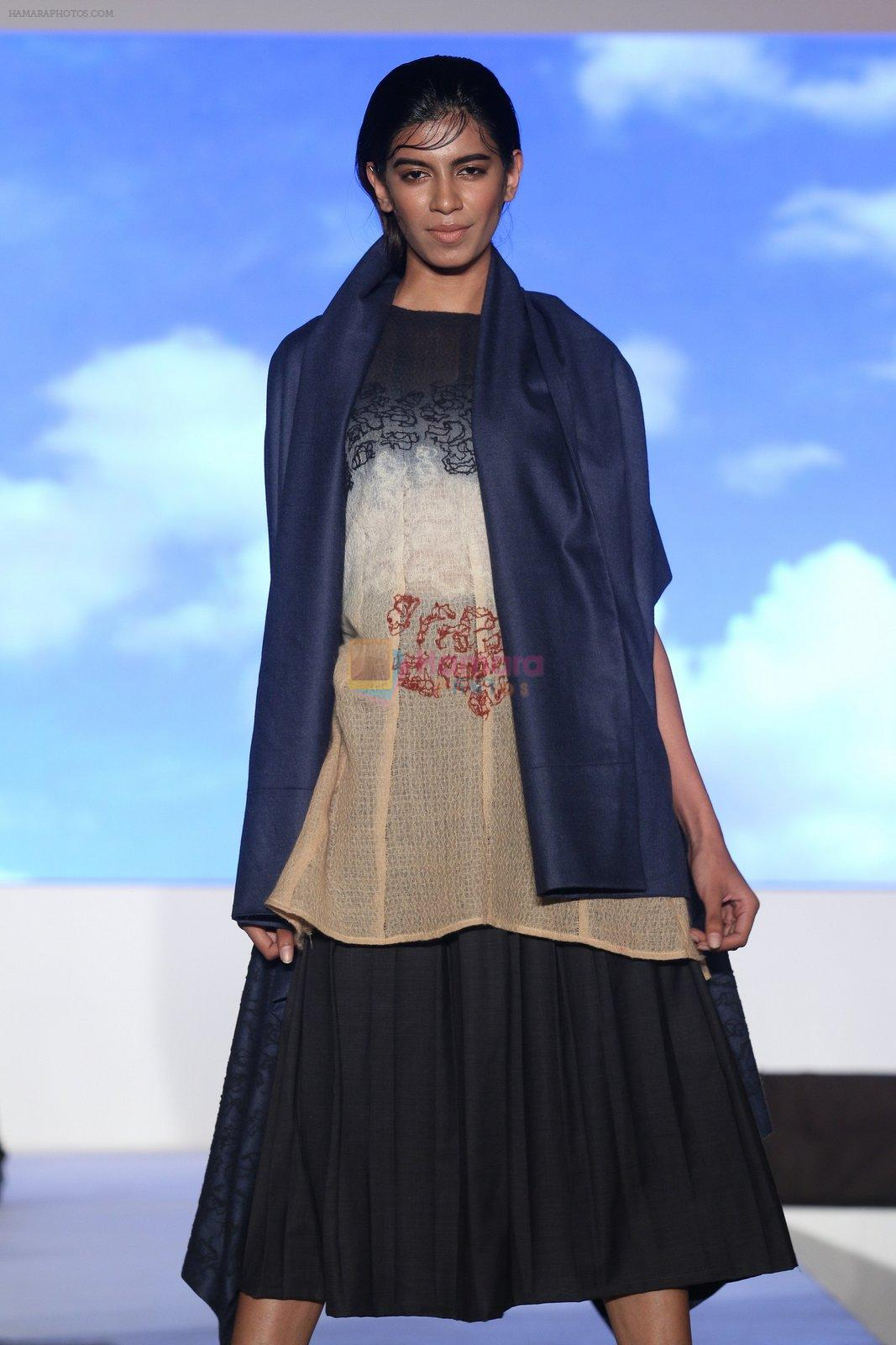 Model in Apoorva Wadhwa 2nd Runner Up Wool Runway Creation