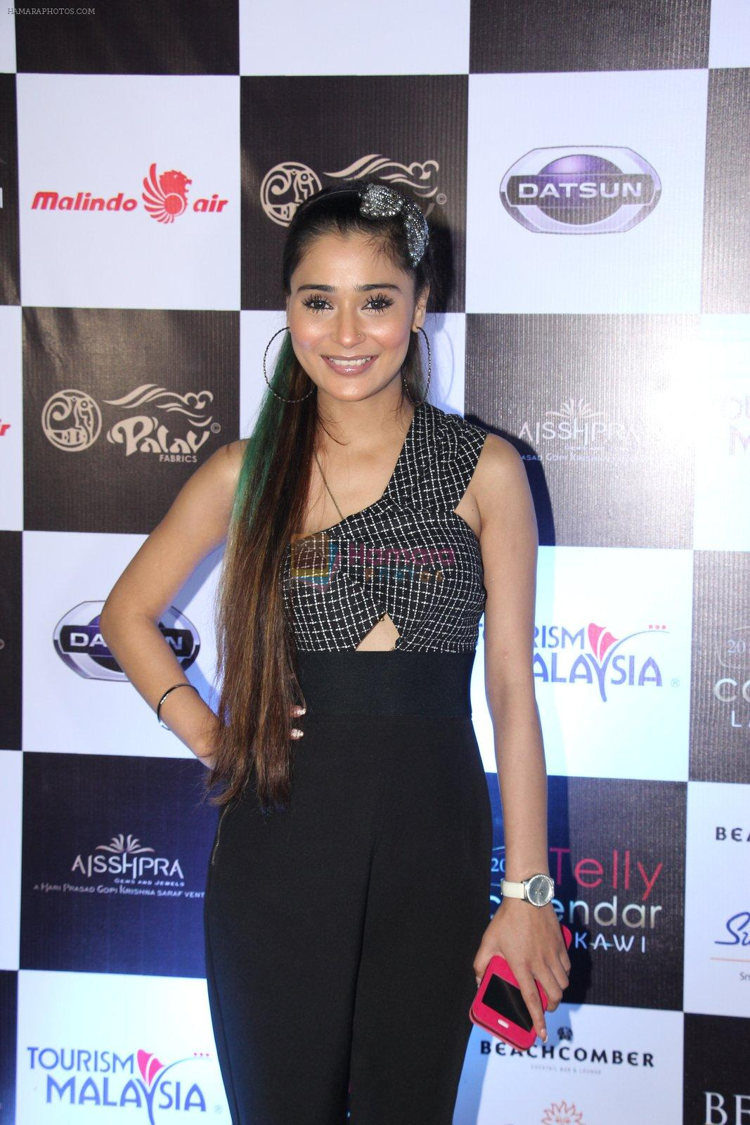 Sara Khan at Tele calendar launch on 26th Dec 2016