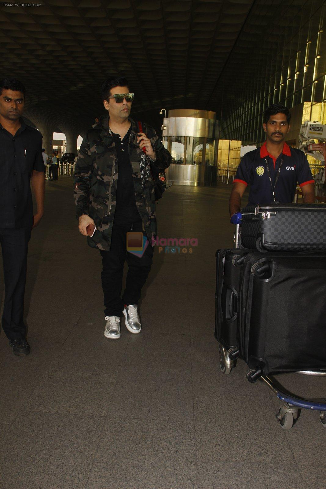 Karan Johar snapped at airport on 24th Dec 2016