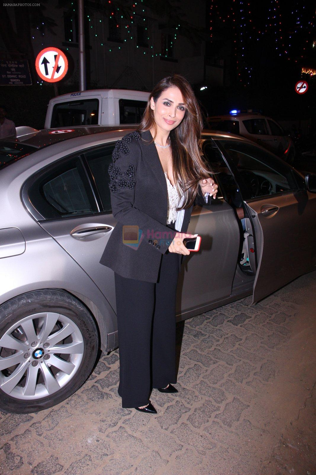 Malaika Arora Khan at Midnight Mass on 24th Dec 2016