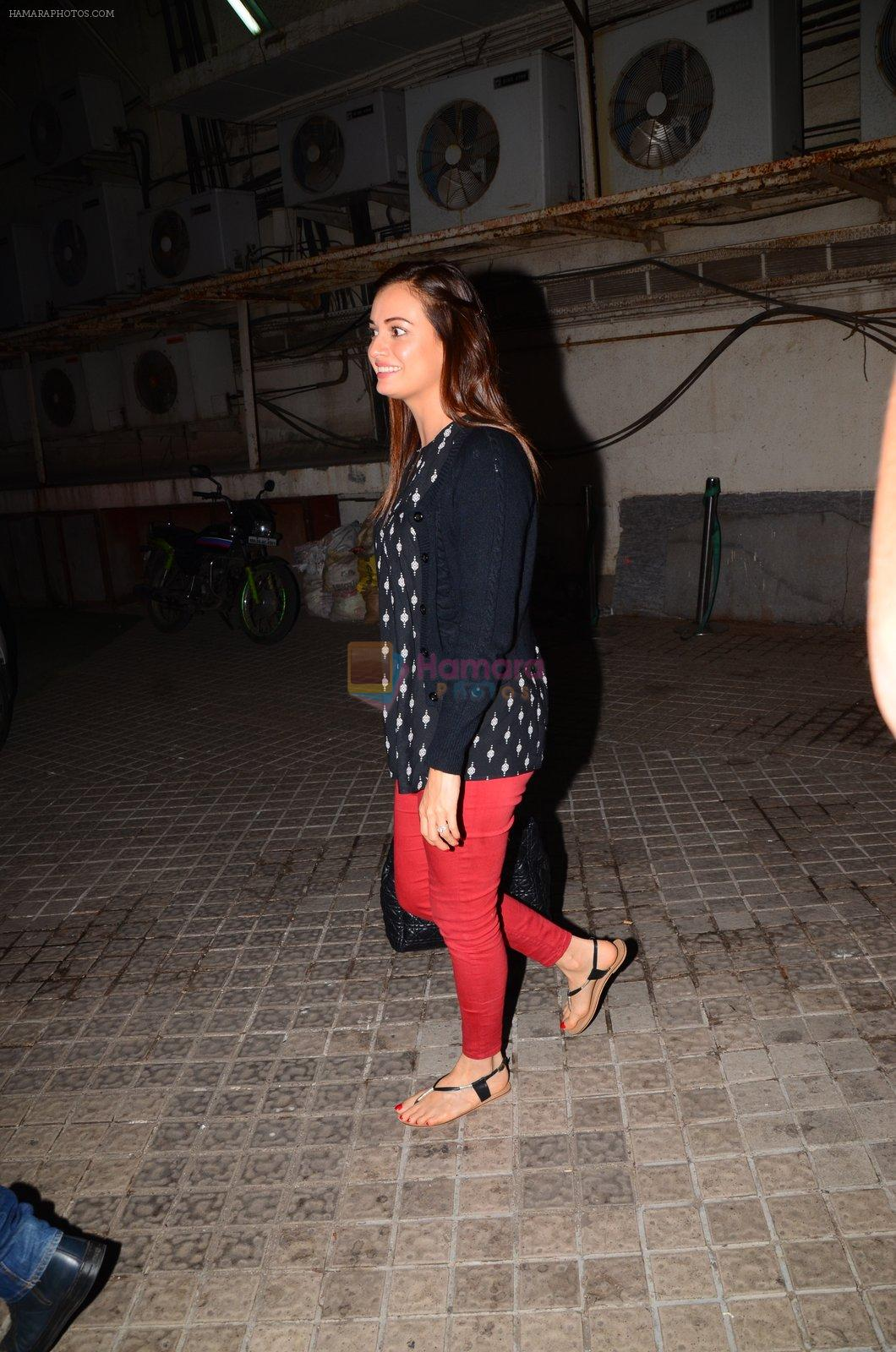 Dia Mirza watches Dangal on 29th Dec 2016