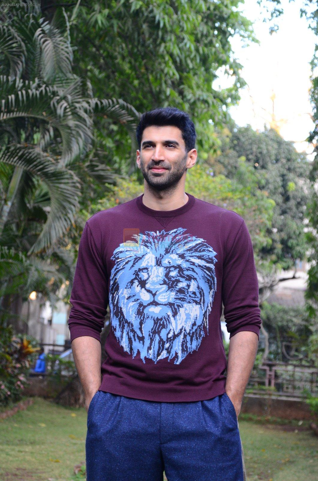 Aditya Roy Kapoor at OK Jaanu promotions on 7th Jan 2017