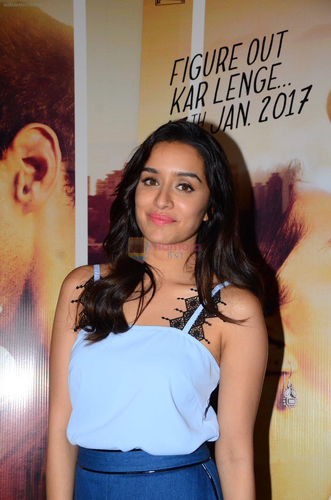 Shraddha Kapoor at OK Jaanu interviews on 8th Jan 2017