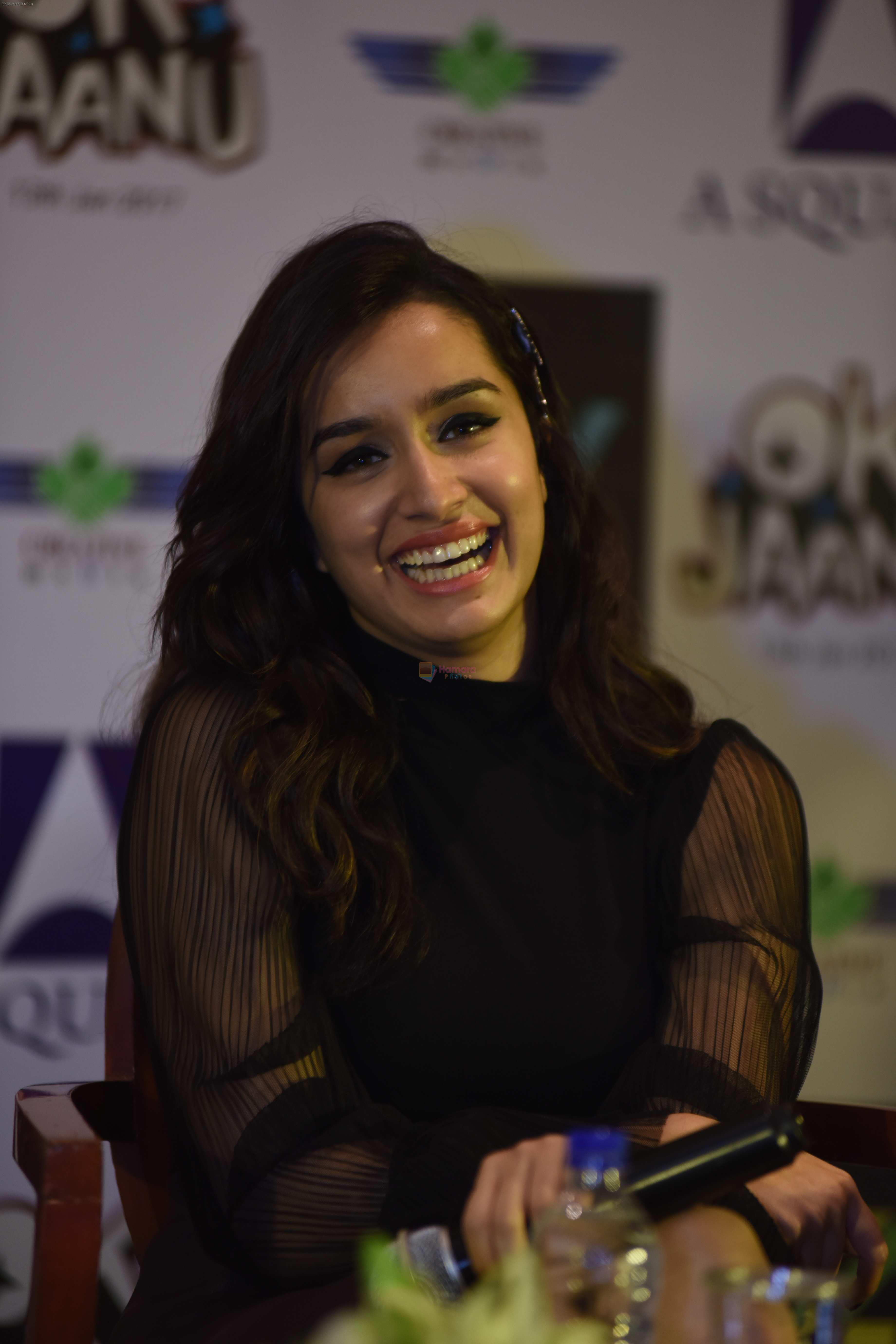 Shraddha Kapoor promotes Ok Jaanu in Delhi on 11th Jan 2017