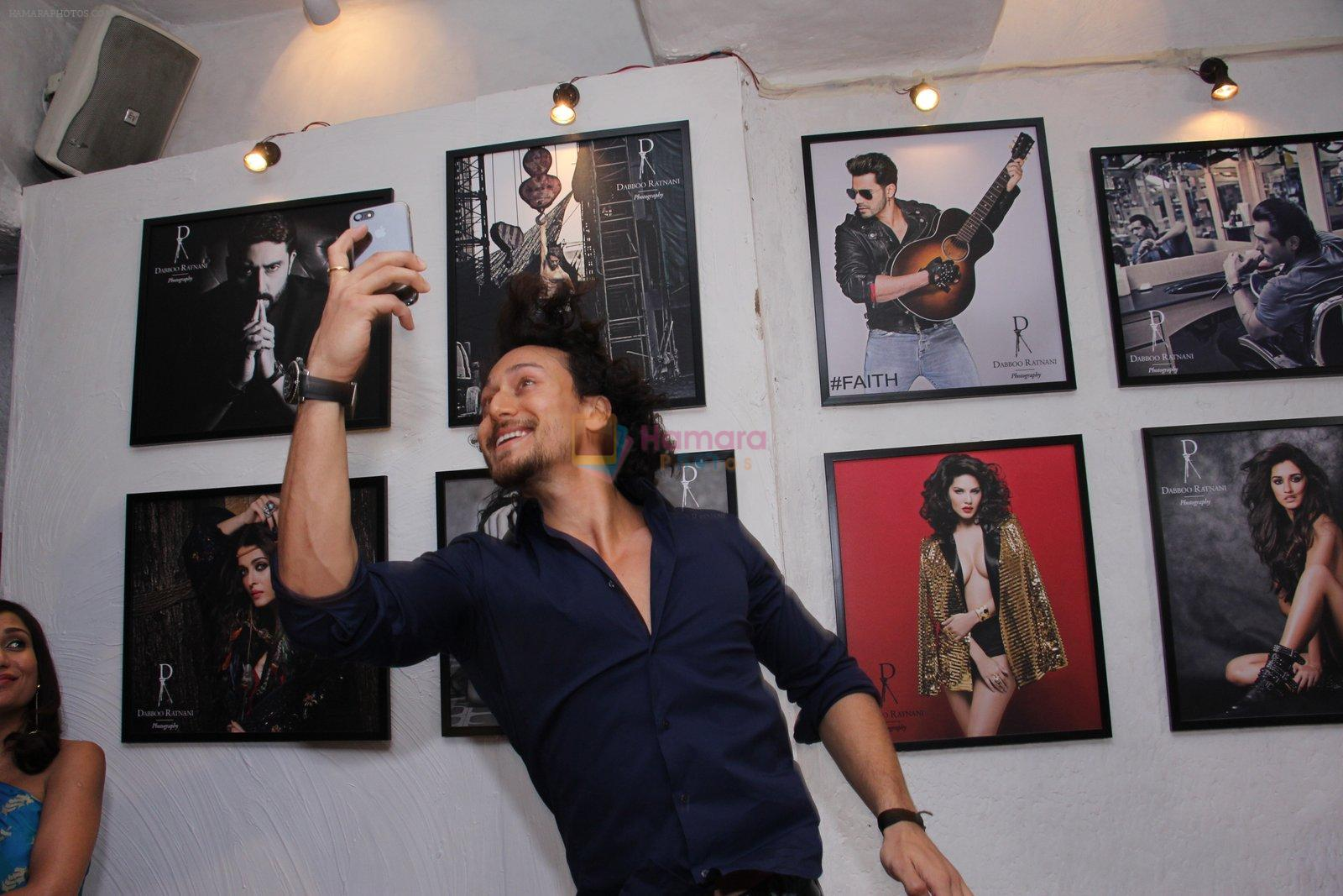 Tiger Shroff at Dabboo Ratnani calendar launch in Mumbai on 11th Jan 2017