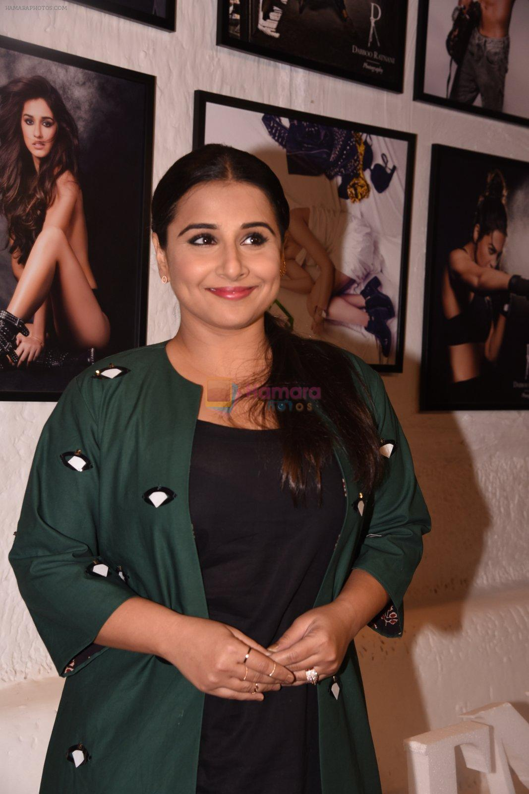 Vidya Balan at Dabboo Ratnani calendar launch in Mumbai on 11th Jan 2017