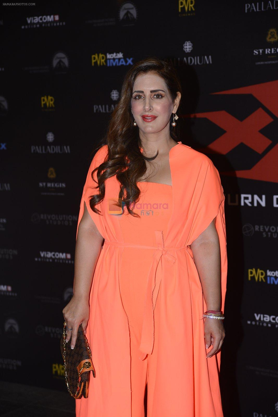 Pria Kataria Puri at XXX Premiere on 12th Jan 2017